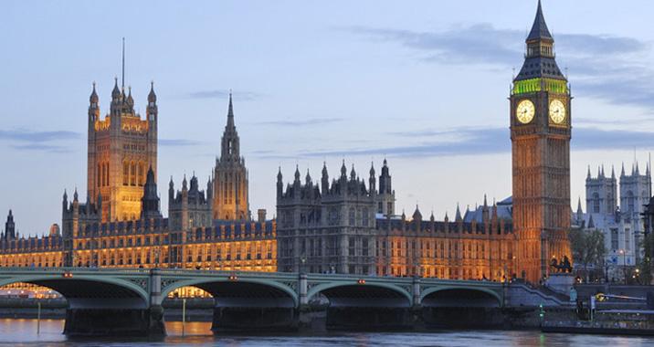 英国伦敦塔手绘